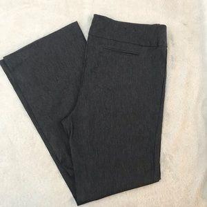Worn Once! Gray Pull On Dress Pants EUC